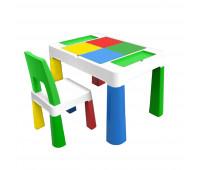 """PP-002G Детский многофункциональный столик POPPET """"Колор Грин 5 в 1"""" и стульчик"""
