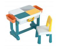 """PP-004 Детский многофункциональный столик POPPET """"Трансформер 6 в 1"""" и стульчик"""
