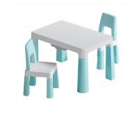 """PP-005WB-2 Детский функциональнй столик """"Моно Блу"""" и два стульчика"""