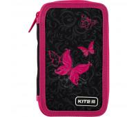 Пенал без наполнения Kite Education Butterfly tale K20-623-3, 2 отделения