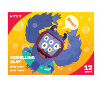 Пластилин восковой Kite Jolliers K20-1086, 12 цветов, 240 г