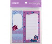 Блок бумаги с липким слоем Kite Lovely Sophie K20-299, набор