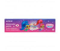 Краски акварельные в картонной упаковке Kite Shimmer&Shine SH20-040, 6 цветов