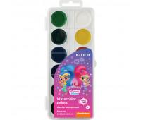 Краски акварельные Kite Shimmer&Shine SH20-061, 12 цветов