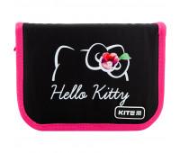 Пенал без наполнения Kite Education Hello Kitty HK20-621-2, 1 отделение, 1 отворот