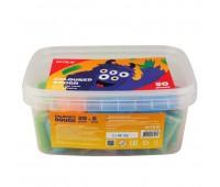 K19-138 Цветнове тесто для лепки Kite Jolliers K19-138, 50*20 г, в ведерке. Kite