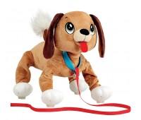 US0005 Интерактивная игрушка Peppy Pets Веселая прогулка Бассет 28 см