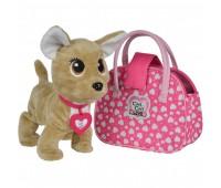 5893110. Интерактивная собачка CHI-CHI LOVE Счастливчик с сумочкой. Simba