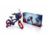 """SP1601. Велосипед 2-х колесный 16 """"Marvel Spider Man, с колокольчиком, зеркалом. Країна Іграшок"""
