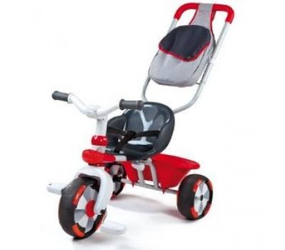 434119. Детский металлический велосипед с багажником и сумкой. Smoby