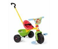 """444187. Детский металлический велосипед с багажником и сумкой """"Винни Пух"""". Smoby"""