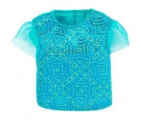 DTF43-3. Голубая футболка для Барби, Стильные комбинации, Barbie. Mattel