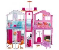 DLY32. Игровой набор Городской дом Малибу, Barbie. Mattel