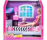 CFB63-2. Роскошный интерьер - спальня, Barbie. Mattel