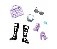 CFX30-4. Стильные аксессуары для Барби, с высокими сандалями, Barbie. Mattel