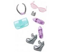 CFX30-6. Стильные аксессуары для Барби, серо-фиолетовые, Barbie. Mattel