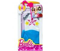 CFX65-10. Бело-синее платье со звездами и полосами для Барби, серии Модное платье, Barbie. Mattel
