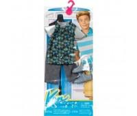 CFY02-1. Костюм Кена (футболка с треугольниками), Barbie. Mattel