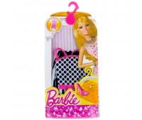 CFX65-1. Черно-белое платье для Барби, серии Модное платье. Mattel