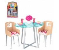 CFG65-1. Ужин (стол и стулья), серия Аксессуары. Barbie. Mattel