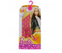 CFX65-3. Розово-белое платье для Барби, серии Модное платье. Mattel