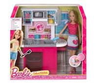 CFB63-1. Роскошный интерьер - кухня. Barbie. Mattel