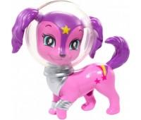 DLT51-3. Фантастическое животное из м/ф Barbie: Звездные приключения, фиолетовая собачка, Barbie. Mattel