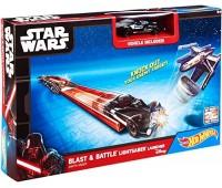 """CMM32-1. Пусковая установка """"Мощный удар"""" серии """"Световой меч"""" Star Wars. Hot Wheels"""