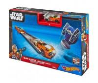 """CMM32-2. Пусковая установка """"Мощный удар"""" серии """"Световой меч"""" Star Wars Hot Wheels"""