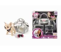 """Chi Chi Love. Собачка CCL """"Чихуахуа. Серебристый гламур"""" с сумочкой и заколкой для девочки. 5895104"""