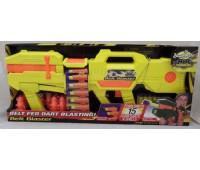 BuzzBeeToys. Помповое оружие Belt Blaster желтый. 42853-2