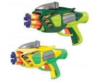 BuzzBeeToys. Помповое оружие Twin Tek 6 с мишенью и патронами. 53203