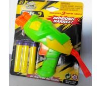 BuzzBeeToys. Помповое оружие Tek 3 зеленый. 61503-2