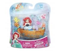 B5338. Набор для игры в воде: маленькая кукла Принцесса и лодка в ассорт. Disney Princess. Hasbro