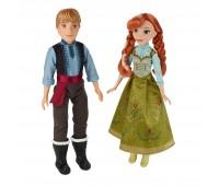 B5168. Набор кукол Холодное Сердце Анна и Кристоф. Disney Princess. Hasbro