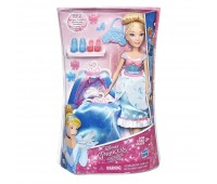 B5312. Модная кукла Принцесса в платье со сменными юбками в ассорт. Disney Princess. Hasbro