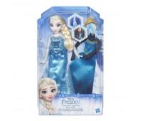 B5169. Кукла Холодное Сердце со сменным нарядом в ассорт. Disney Princess. Hasbro