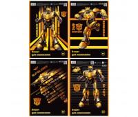 TF19-243 Тетрадь для рисования Kite Transformers BumbleBee Movie, 30 листов TF19-243. Kite