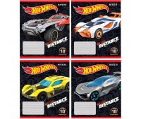 HW19-237 Тетрадь школьная Kite Hot Wheels, 18 листов, в линию, HW19-237. Kite