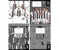 JV19-236 Тетрадь школьная Kite FC Juventus, 18 листов, клетка, JV19-236. Kite