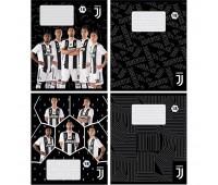 JV19-237 Тетрадь школьная Kite FC Juventus, 18 листов, в линию, JV19-237. Kite