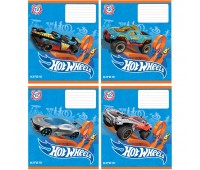 HW19-232 Тетрадь школьная Kite Hot Wheels, 12 листов, клетка, HW19-232. Kite