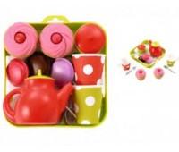 Ecoiffier. Набор посуды с пирожными. 000960