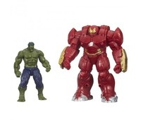 B0448EU4-2. Халк и Халкобастер, мини фигурки мстителей делюкс. Hasbro