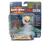 A6058-17. Игровой набор Angry Birds - дополнительные персонажи, Мейс Венду и Люк Скайуокер. Star wars. Hasbro