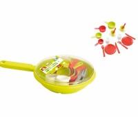 Ecoiffier. Набор посуды в сковороде. 000973