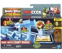 A6092-2. Игровой набор Angry Birds Дженга: Битва, Count Dooku. Star wars. Hasbro
