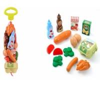 Ecoiffier. Набор продуктов в сетке. 000950
