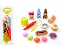 """Ecoiffier. Набор продуктов """"Вкусный десерт"""" в сетке. 000952"""