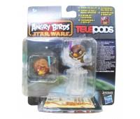 A6058-15. Игровой набор Angry Birds - дополнительные персонажи, Энакин Скайуокер и Мейс Венду. Star wars. Hasbro